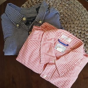American Eagle Outfitters Button up Plaid shirts